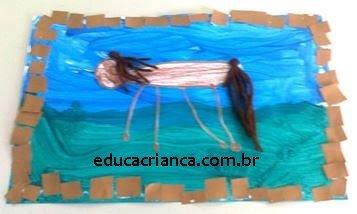 pintura de cavalos