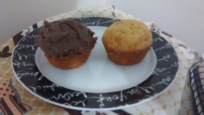 Muffins delícia de cenoura
