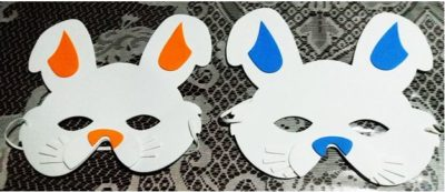 mascaras de coelho