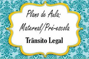 trânsito para maternal e pré-escola