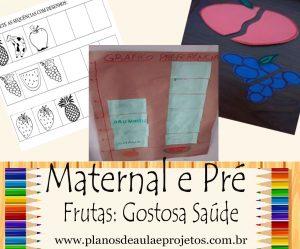 FRUTAS para maternal e pré-escola