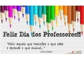 Aos nossos professores