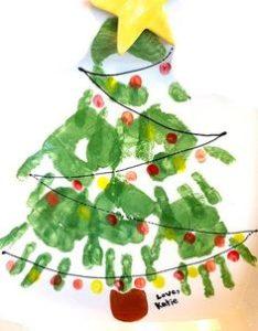 Monte árvores de Natal