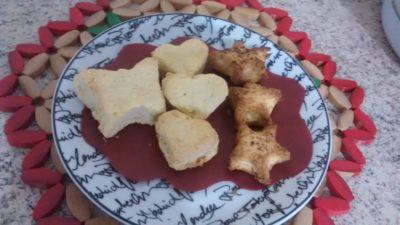 biscoitinhos de coco e canela
