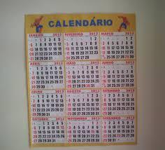 calendários para sala de aula