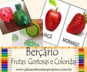 frutas para berçário
