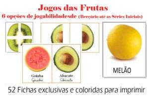 Cartelas de frutas