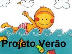 projeto verão