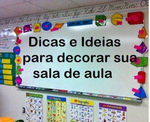decorar sua sala de aula
