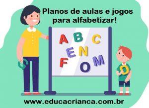 Planos de aulas para alfabetização