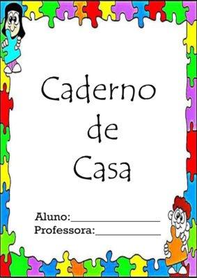 capas para cadernos coloridas